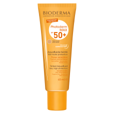 Bioderma, Photoderm Max Aquafluide SPF 50+ Tono Claro, 40ml